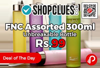 FNC Assorted 300ml Unbreakable Bottle