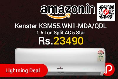 Kenstar KSM55.WN1-MDA/QDL 1.5 Ton Split AC 5 Star