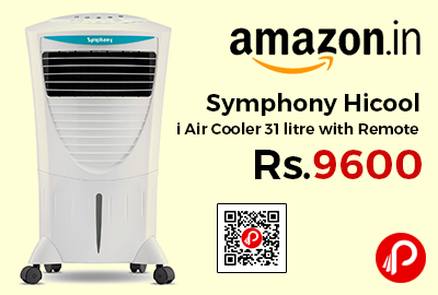 Symphony Hicool i Air Cooler 31 litre with Remote