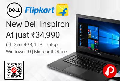 Dell Inspiron A561202SIN9 3467 Notebook Core i3 6th Gen