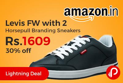 Levis FW with 2 Horsepull Branding Sneaker