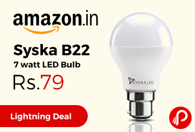 Syska B22 7 watt LED Bulb