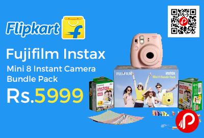Fujifilm Instax Mini 8 Instant Camera Bundle Pack