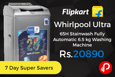 Whirlpool Ultra 65H Stainwash Fully Automatic 6.5 kg Washing Machine