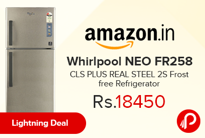 Whirlpool NEO FR258 CLS PLUS REAL STEEL 2S Frost free Refrigerator