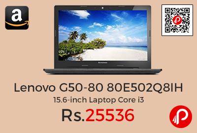 Lenovo G50-80 80E502Q8IH 15.6-inch Laptop Core i3