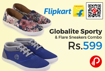 Globalite Sporty & Flare Sneakers Combo