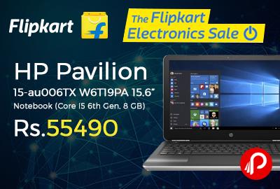 """HP Pavilion W6T19PA 15-au006TX 15.6"""" Notebook"""