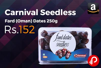 Carnival Seedless Fard