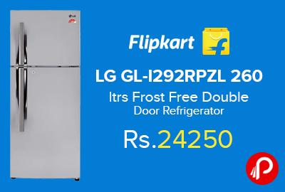 LG GL-I292RPZL 260 ltrs Frost Free Double Door Refrigerator