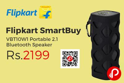 Flipkart SmartBuy VBT10W1 Portable 2.1 Bluetooth Speaker
