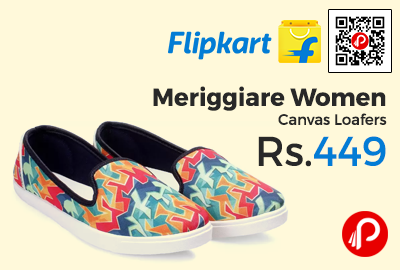 Meriggiare Women Canvas Loafers