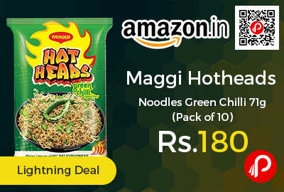 Maggi Hotheads Noodles Green Chilli 71g