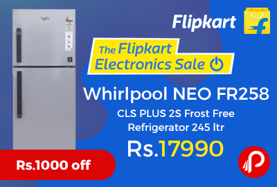 Whirlpool NEO FR258 CLS PLUS 2S Frost Free Refrigerator 245 ltr