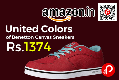 United Colors of Benetton Canvas Sneakers
