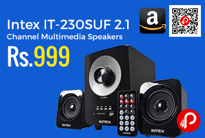Intex IT-230SUF 2.1 Channel Multimedia Speakers