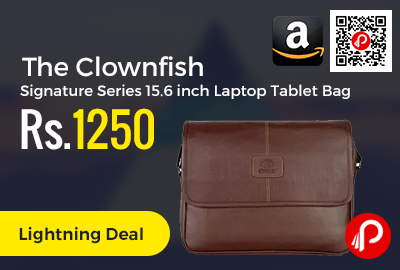 The Clownfish Signature Series 15.6 inch Laptop Tablet Bag