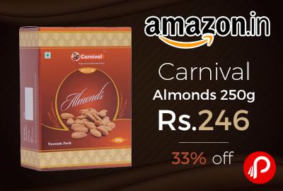 Carnival Almonds 250g