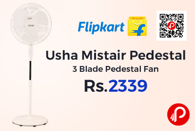 Usha Mistair Pedestal 3 Blade Pedestal Fan