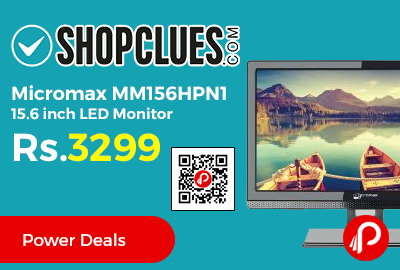 Micromax MM156HPN1 15.6 inch LED Monitor