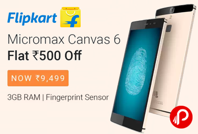 Micromax Canvas 6 Mobile