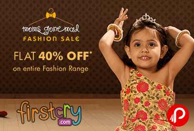 FirstCry Moms Gone Mad Sale