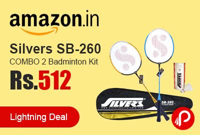Silvers SB-260 COMBO 2 Badminton Kit