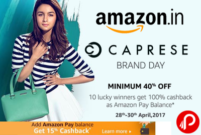 Caprese Brand Day Minimum 40% off - Amazon