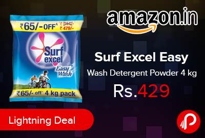 Surf Excel Easy Wash Detergent Powder 4 kg