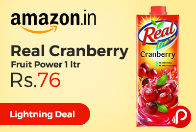Real Cranberry Fruit Power 1 ltr