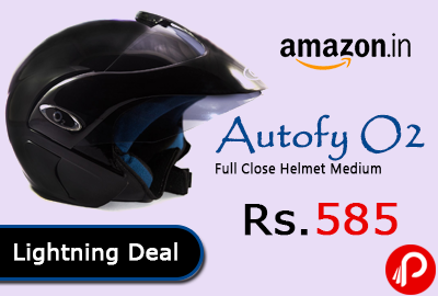 Autofy O2 Full Close Helmet Medium