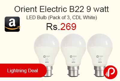 Orient Electric B22 9 watt LED Bulb