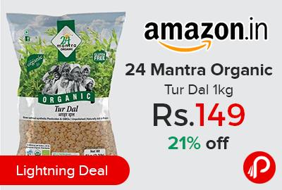 24 Mantra Organic Tur Dal 1kg