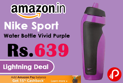 Nike Sport Water Bottle Vivid Purple