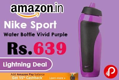 Nike Sport Water Bottle Vivid Purple
