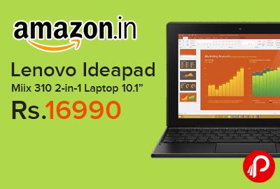 Lenovo Ideapad Miix 310 2-in-1 Laptop
