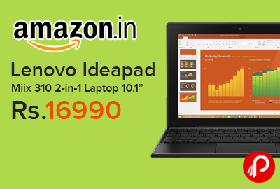Lenovo Ideapad Miix 310 2-in-1 Laptop