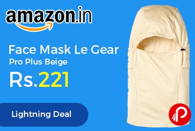 Face Mask Le Gear Pro Plus Beige