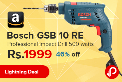 Bosch GSB 10 RE Professional Impact Drill 500 watts