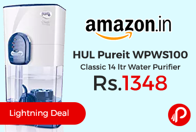 HUL Pureit WPWS100 Classic 14 ltr Water Purifier