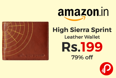 High Sierra Sprint Leather Wallet