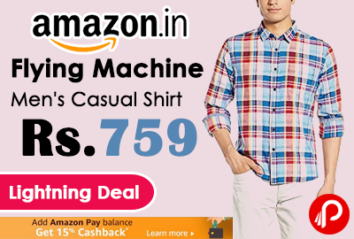 Flying Machine Men's Casual Shirt