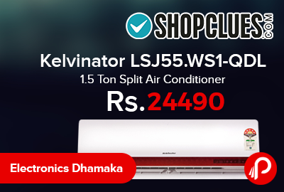 Kelvinator LSJ55.WS1-QDL 1.5 Ton Split Air Conditione