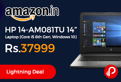 "HP 14-AM081TU 14"" Laptop"