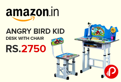 Angry Bird Kid Desk with Chair