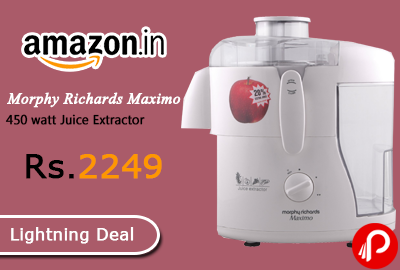 Morphy Richards Maximo 450 watt Juice Extractor
