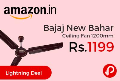 Bajaj New Bahar Ceiling Fan 1200mm