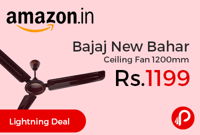 Bajaj New Bahar Ceiling Fan 1200mm