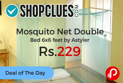 Mosquito Net Double Bed 6x6 feet