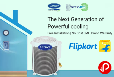 Carrier CycloJet AC Price Starts Rs.29000 Next Generation of Power Cooling
